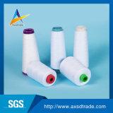 Hohe Hartnäckigkeit gefärbtes Polyester-Gewebe-Stickerei-Nähgarn für das spinnende Stricken