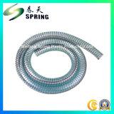 Transparenter Belüftung-Plastikstahldraht-verstärkter Wasser-hydraulischer industrieller Abflussrohr-Schlauch