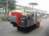 máquina segadora de goma de la correa eslabonada de 4lz-2.2z 1530m m con el pequeño tanque del arroz