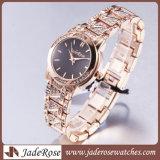 호화스러운 Goldrose는 석영 손목 시계 팔찌 형식 시계 스포츠 시계를 본다