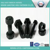 De Noten van de Hexuitdraai van het Zink Plated/HDG van de Bouten & van de Noten van de Hexuitdraai van het roestvrij staal/Van het Koolstofstaal - en - bouten (DIN933 EN DIN934)