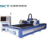 автомат для резки лазера волокна 500W для металла плоского