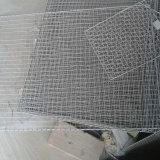電流を通された溶接された金網のパネル
