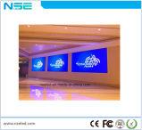 P4 Aluguer de cores interiores SMD LED suspensos