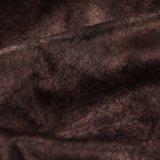 Ткань 100% бархата полиэфира для крышки софы