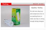 Luz barato caliente del maíz LED del blanco E27 5W de la calidad