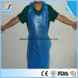 A FDA aprovado pela CE Custom barato descartáveis de HDPE PE avental de plástico de cozinha