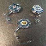 卸し売りカスタム小型金属IDの軍のバッジホールダー
