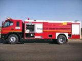 Portas do carro de bombeiros para o salvamento Emergency (extintor)