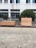 Simens 모터를 가진 ISO에 의하여 승인되는 상단 격판덮개 깔판 감싸는 기계