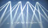 8X10W LED Branco Frio Aranha de movimentação de feixe de luz de estágio