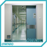 Врезанный тип раздвижная дверь стальной плиты герметичная комнаты деятельности