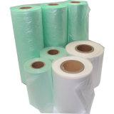 Pellicola materiale su ordinazione del cuscino dell'aria di stampa di colore dell'HDPE, sacchetto di aria della pellicola del cuscino d'aria in rullo