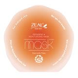 Zelo delicado e suave Reparação Gastrodia Elata Máscara facial