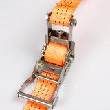ステンレス鋼ストラップのラチェットはベルトを打つ貨物のために結ぶ