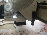 Schaufel-Form CNC-Ausschnitt-Maschine CNC-Oscillatting