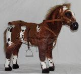 Paard van het Toestel van de Uitrusting van het Stuk speelgoed van het huisdier het Pluche Gevulde