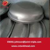 testa ellissoidale dell'acciaio inossidabile 01-12-Small con l'estremità del contenitore a pressione della flangia ASME