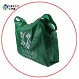 Plegable de comestibles de poliéster reciclado Bolsa Bolsa de compras de regalos promocionales