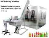 Macchina imballatrice imbottigliante di coperchiamento di sigillamento della bottiglia dell'acqua potabile della spremuta della bevanda della bibita analcolica della bevanda di riempimento a caldo gassoso liquido minerale automatico dell'imballaggio