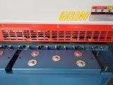Il piatto d'acciaio idraulico di QC12y 6X3200 tosa la macchina di Cuting del metallo di CNC