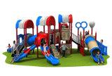 Apparatuur van de Speelplaats van jonge geitjes de Plastic Milieuvriendelijke Openlucht voor Verkoop (hd-092A)