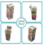 Diseño personalizado de 350g de embalaje Caja de papel de la Junta de marfil