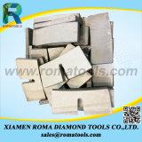 Segmento di pietra del diamante di taglio a blocchi del granito di U-Figura
