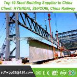Hoch qualifizierte Fertigung GB-Stahlrahmen-vor fabrizierte Metallgebäude