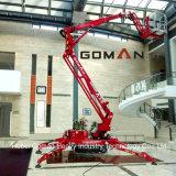 Articulado motor diésel de 16m de elevación del brazo montada sobre orugas
