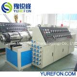 machine à tuyaux de drainage en PVC extrudeuse à double vis pour la fabrication de 4-6-8 tuyau pouce