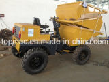 De Capaciteit van 1.5 Ton (Lading) en de MiniKipwagen van het Type van Diesel 4X4