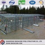 Estructura de acero prefabricados Sinoacme cobertizo de almacenamiento
