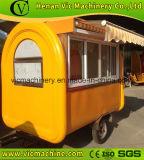 [فل888-غ] [غلسّ ويندوو] متحرّكة طعام عربة مع ظلة