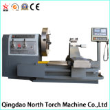 Precio barato de alta calidad Full Metal Escudo Torno CNC para girar la brida (CK61200)