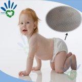 Tela 100% não tecida dos PP Spunbonded do Virgin para médico e a higiene: Como o tecido do bebê, tampão cirúrgico, máscara, vestido