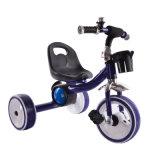 Filashing 3개의 가벼운 바퀴를 가진 아이를 위한 페달 세발자전거