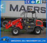 De Compacte Tractor van de Lader van de Schop van Jieli met VoorLader