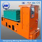 8 toneladas de la casilla de la explotación minera de locomotora doble a prueba de explosiones de la batería