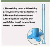 Aufbau galvanisierter Stahl Props Stützbalken-System