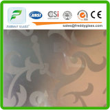 Arte decorativa verniciata incisa acido di vetro