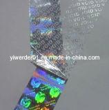 Holograma láser a prueba de manipulación Etiquetas Void&Stickers