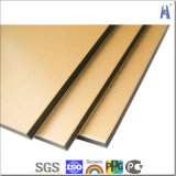 4mm PVDF Recubrimiento Bendable Plastic Core ACP
