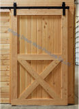 Dimon 30 adentro. X 84 adentro. Los paneles interiores rústicos de la puerta de granero del estilo americano (DM-WD 002)