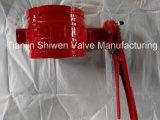 Handhebel-Nut-Enden-Drosselventile mit Ce/CCC genehmigen