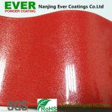 Revestimento em pó vermelho Pérola metálico tinta em pó