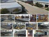 China 4 Wellen ziehen Speicherauszug-hydraulischen Endstück-Aufzug 80 Tonnen LKW-Traktor-Kipper-Schlussteil-für Verkauf auf