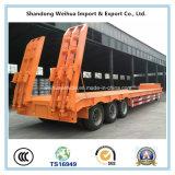 De 3 essieux de bâti remorque inférieure avancée semi de fournisseur de la Chine