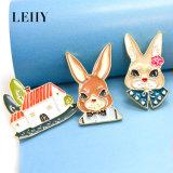 3 bijou de broches de Chambre de Madame Rabbit Gentlemen Rabbit Gold-Plated d'émail de PCS/Sets