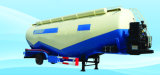 De 55cbm 70t de la colle de camion-citerne remorque durable semi